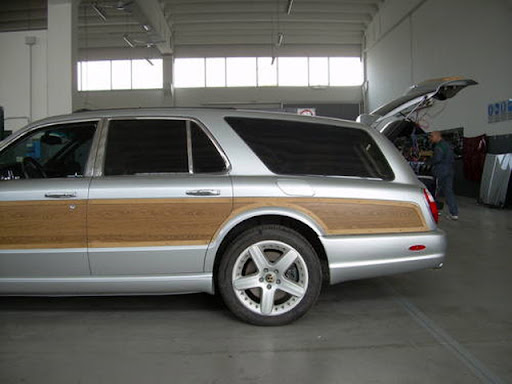 Bentley Arnage Silver. Bentley Arnage T Station Wagon