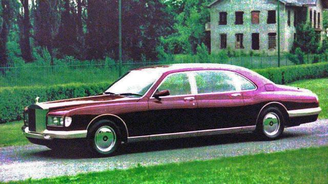 Rolls-Royce Phantom Majestic by Bertone Sultan of Brunei