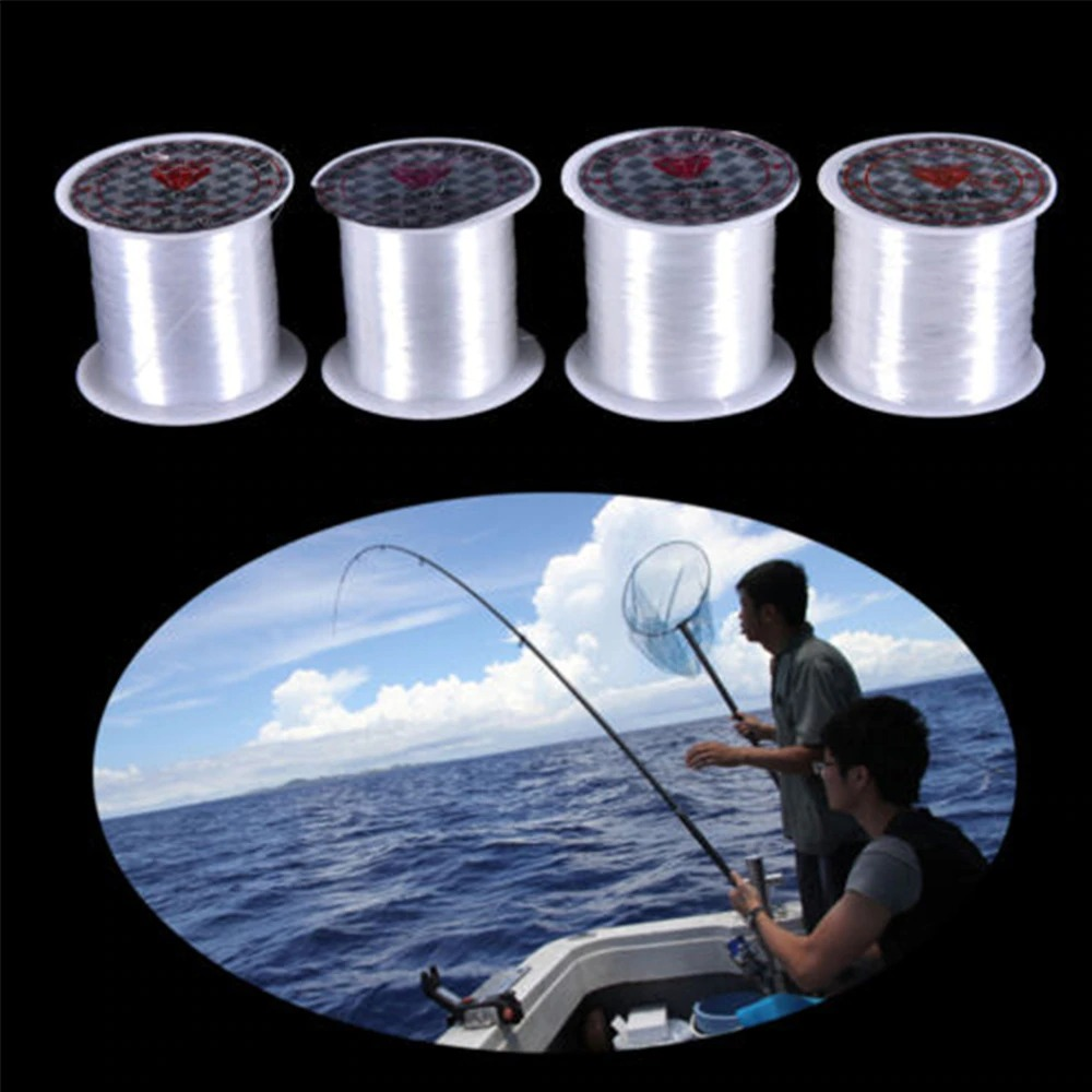 0.2mmx155m Clear Fishing Wire Non Stretch Unbreakable Invisible Transparent Code