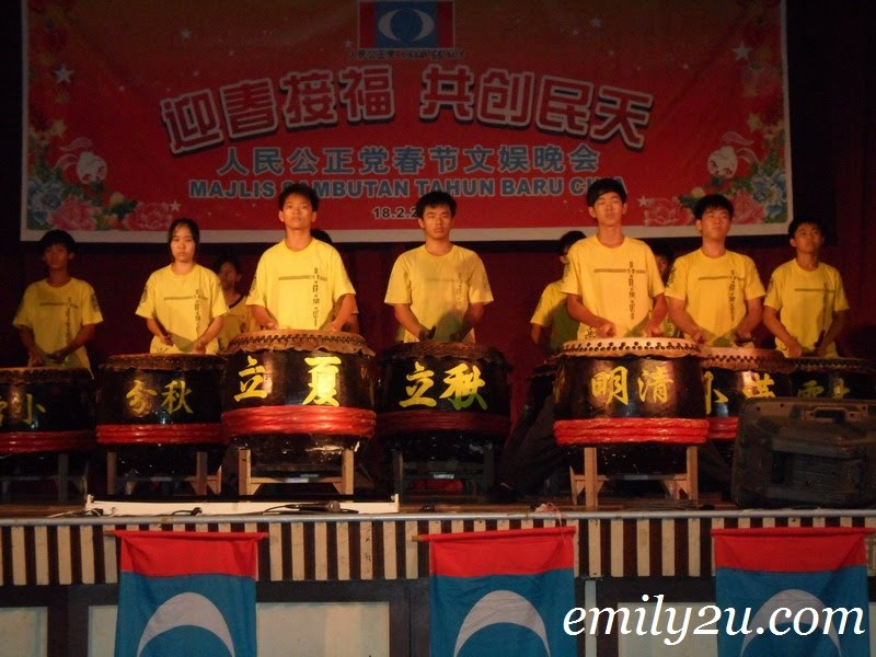 Chinese drum performance