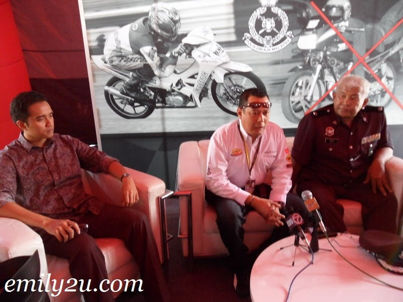 Ride It Right press conference Ipoh