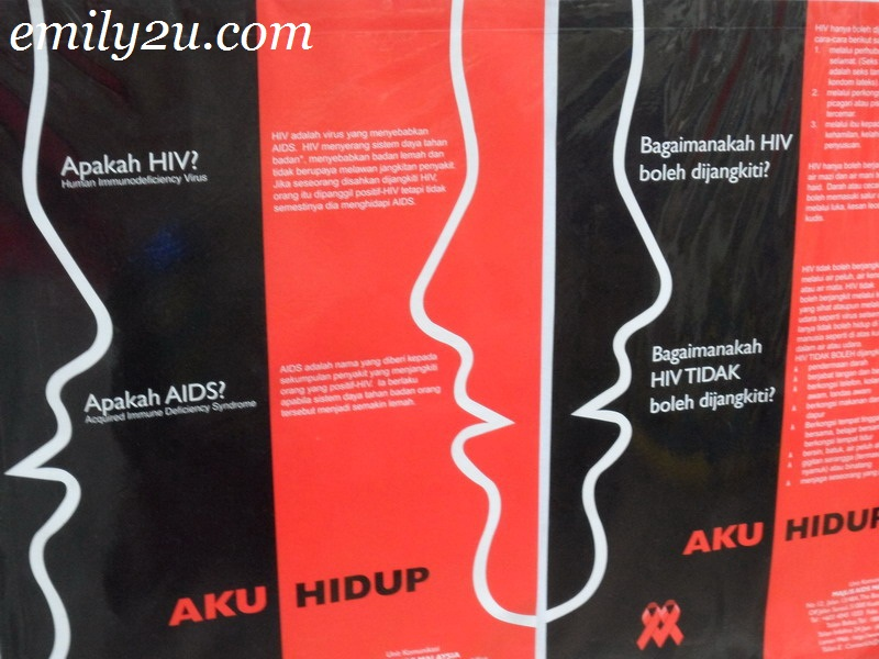 Support For People Living With HIV / AIDS (PLWHAs) In Ipoh, Perak