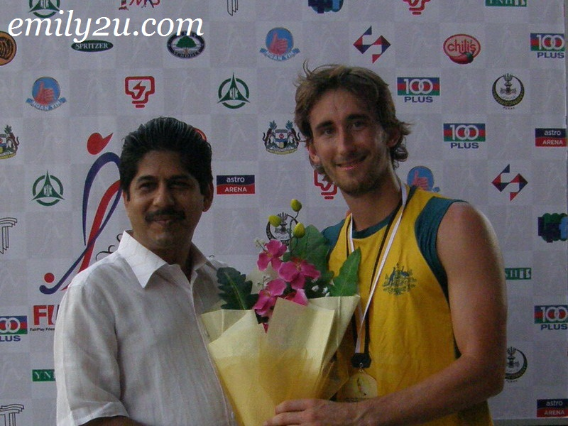 Player of the Match - Australia Jason Wilson