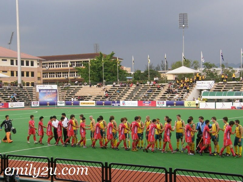 Match 14 Photos & Results: AUS vs. KOR (Sultan Azlan Shah Cup 2011)