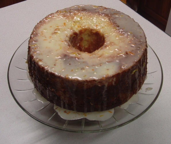 Yellow Jacket Chiffon Cake