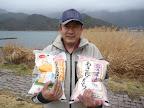 山脇プロ@JB山中湖より東北のお米やルアー提供ありがとうございました! 2011-04-19T14:05:42.000Z