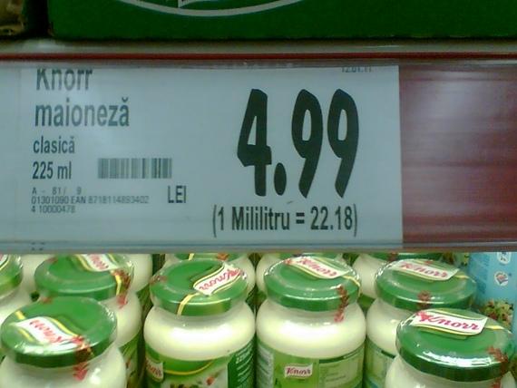 Cea mai scumpă maioneză din lume, la Kaufland