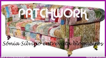 Entrevista no Patchwork com a amiga Sônia