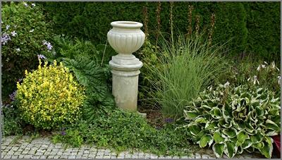 ogród, garden, donica