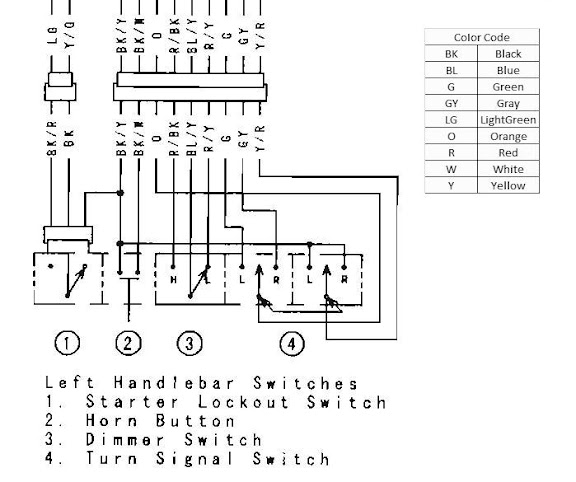Tear it up, fix it, repeat: Vulcan 1500 / 1600 Headlight ... Headlight Dimmer Relay Wiring Diagram on