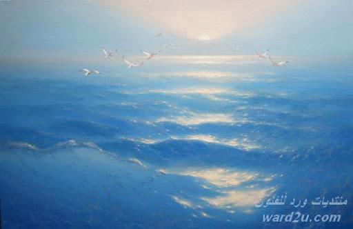 البحر قراءه فنيه في لوحات
