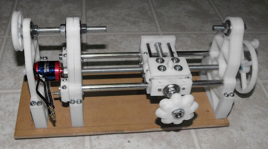 3d Printed Lathe Make