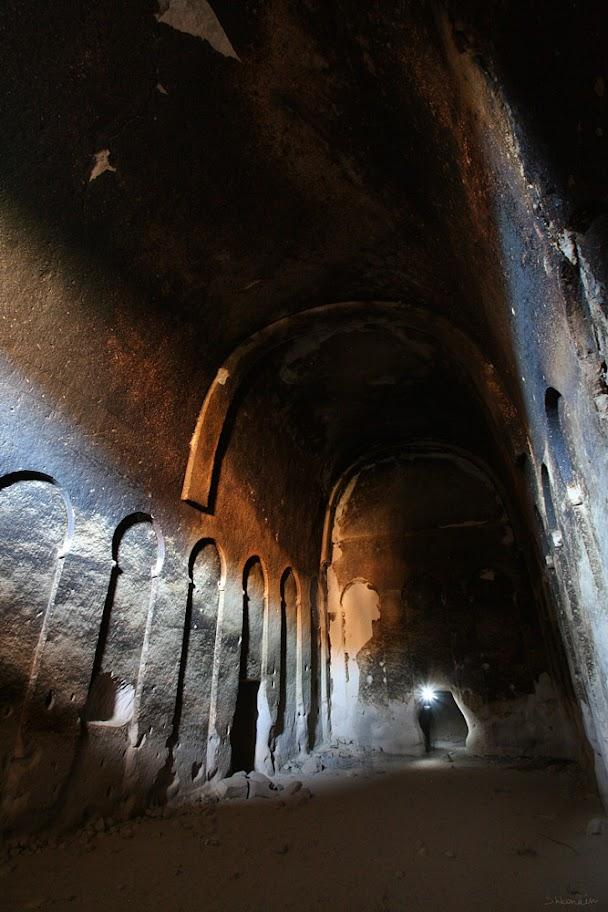Ихлара, большой  зал