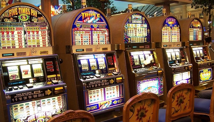 online casino slot defferent