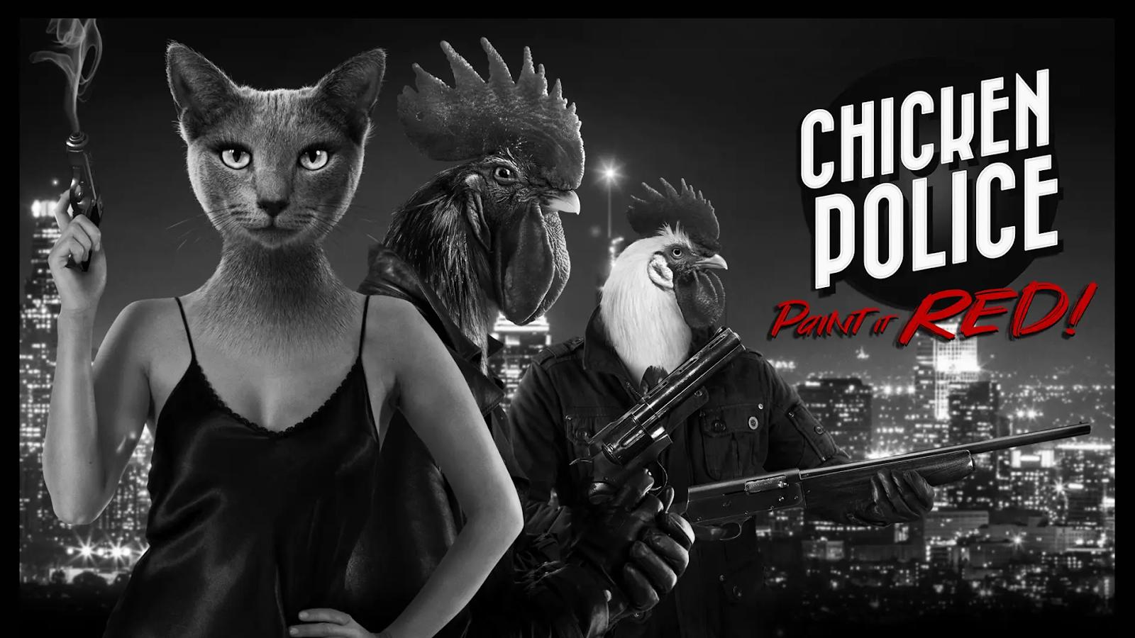 Обзор Chicken Police — сюжет без спойлеров, скришоты и геймплей