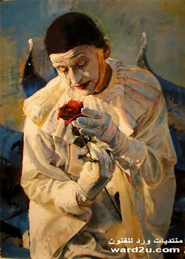 اقنعه تخفي في لوحات فنيه ابداع Ines Martinez Gonzalez