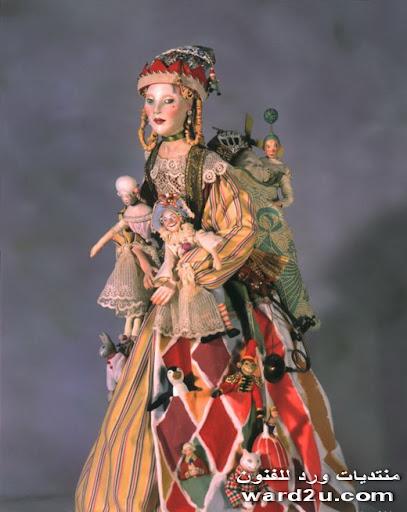 عالم خيالى من عرائس Nancy Wiley