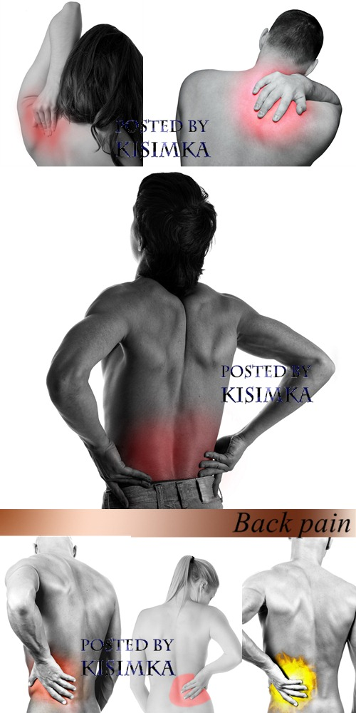 Stock Photo: Back pain
