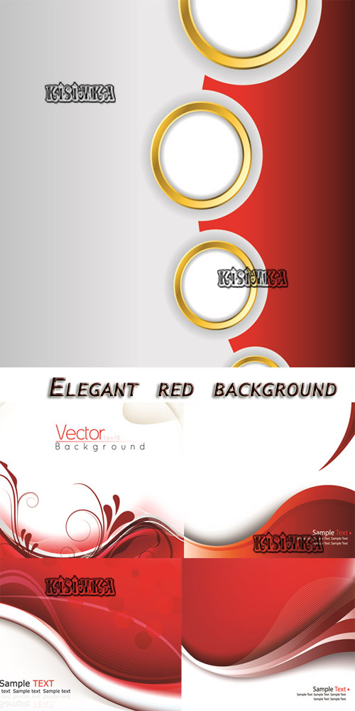 Stock: Elegant red background 3