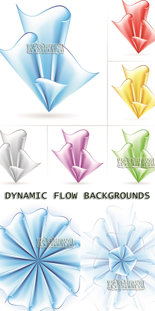 Stock: Dynamic Flow Backgrounds