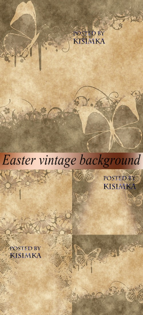 Stock Photo: Easter vintage background