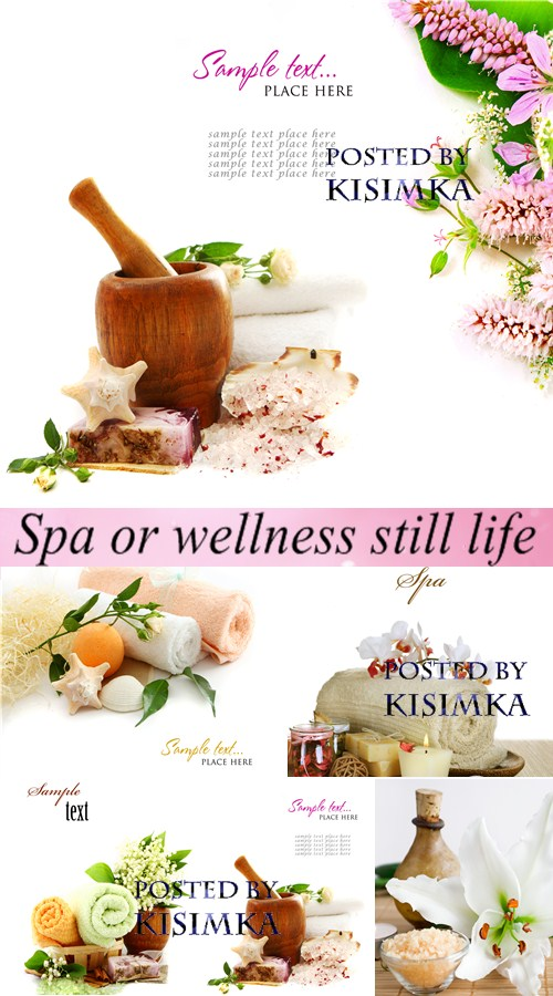 Post card: Spa or wellness still life