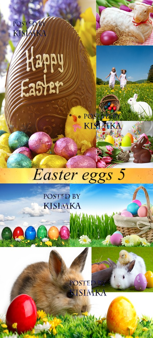 Stock Photo: Easter eggs 5