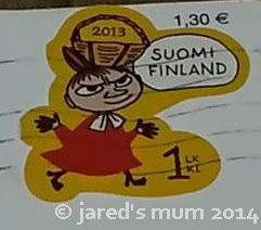 stamps, sunday stamps, Finland, Bahrain