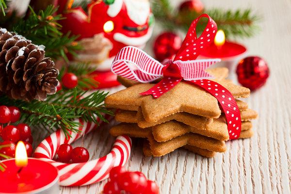 Святкове новорічне печиво, зроблене власноруч