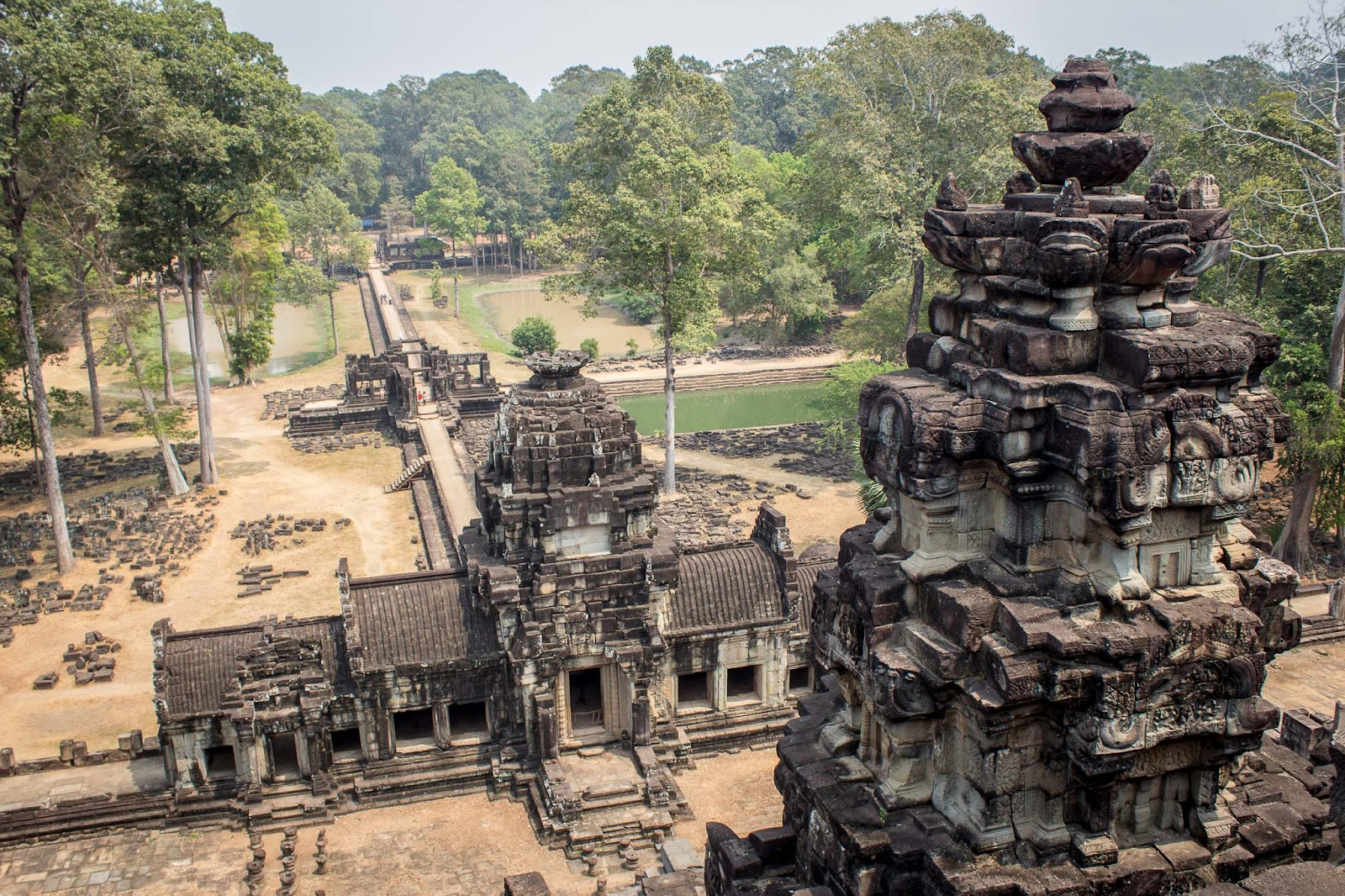 the baphuon, angkor temples, cambodia, siem reap, visiting angkor, best temples