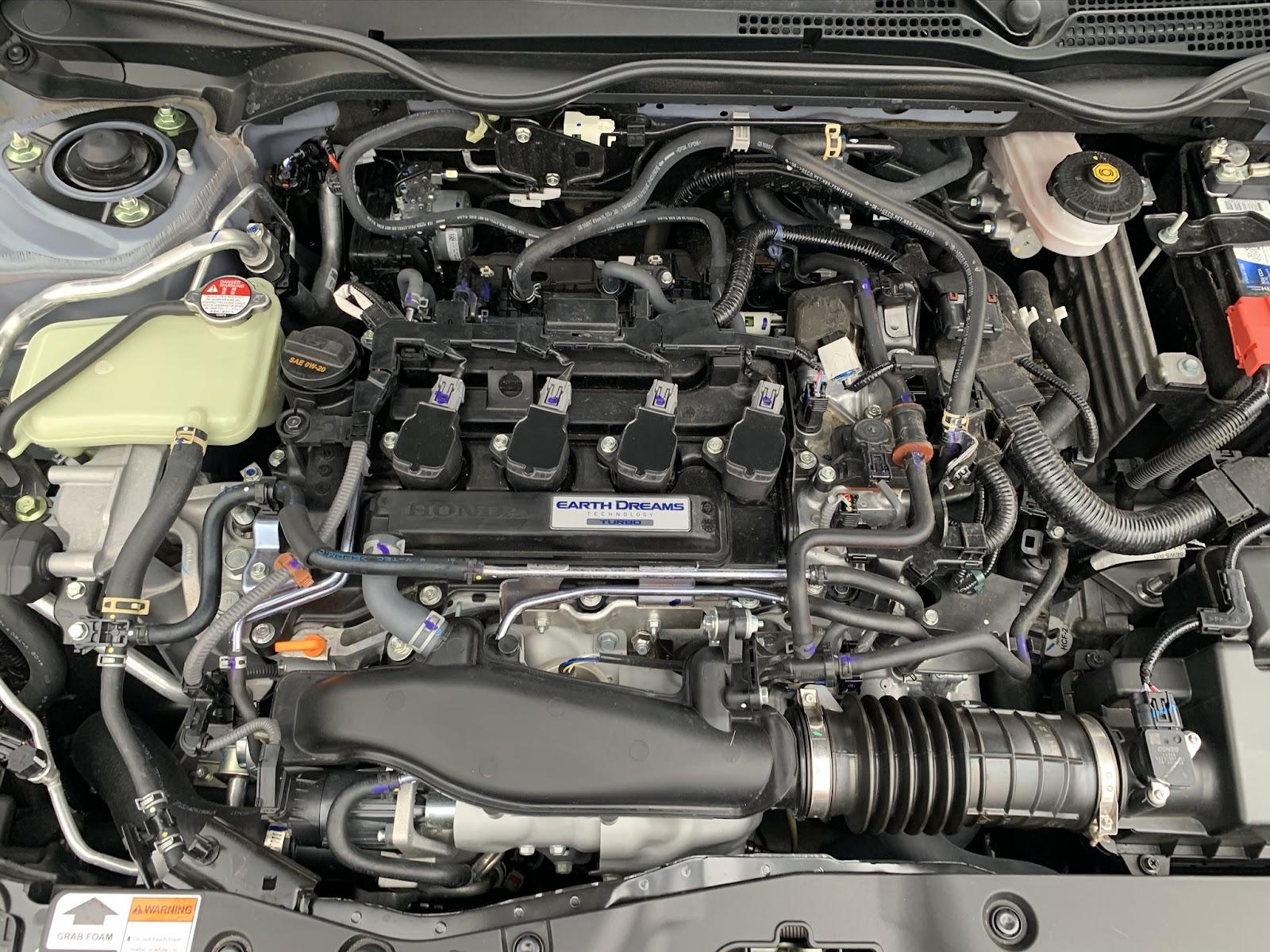 Honda Civic Hatchback 1.5-liter engine