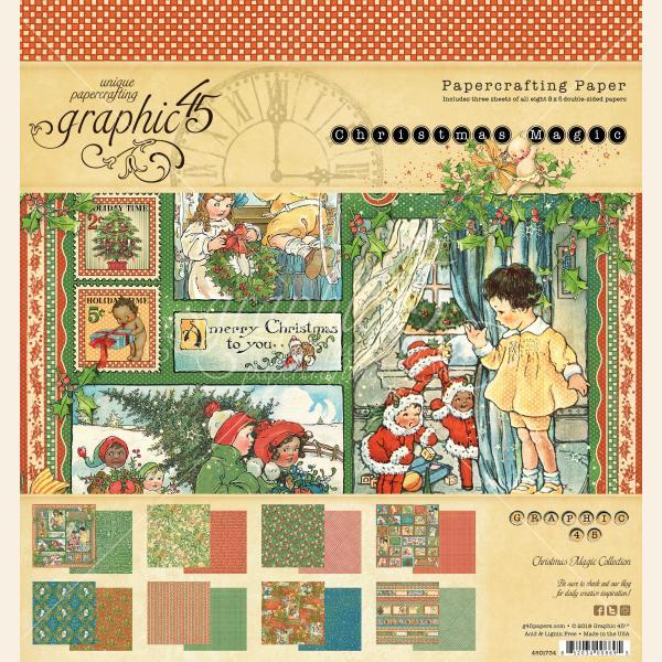 Christmas Magic 8x8 Paper Pad