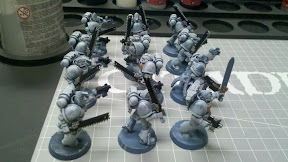 Space Wolves Chainswords