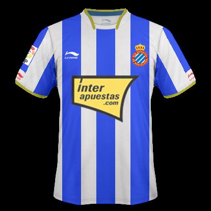 Camisetas hechas por ordenador Espanyol