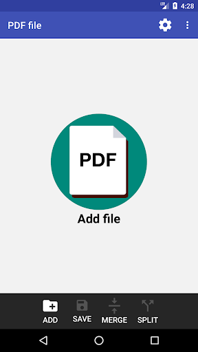 PDF Page Extractor and Removal- screenshot thumbnail