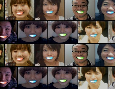 【画像・動画】海外で「日本人が歯をLEDで光らせて笑うのがブーム」とニュースになったらしい