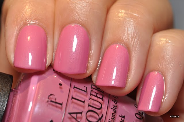 Spaz & Squee: OPI Month - Japanese Rose Garden