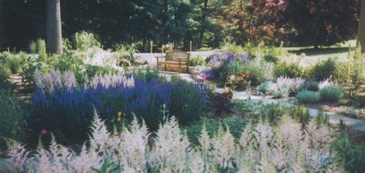Beautiful garden in Gladwyn, PA