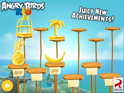 Angry Birds Rio Screeen Shot