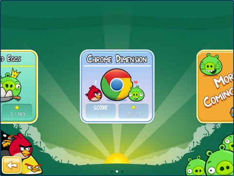Angry Birds for Chrome