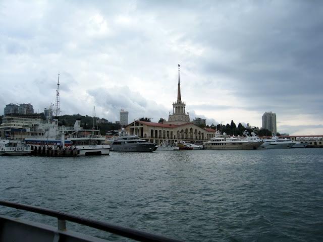 Морской порт в г. Сочи