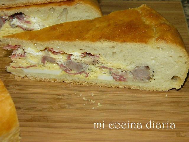Pizza rustica de Pascua (Пицца Пасхальная домашняя)