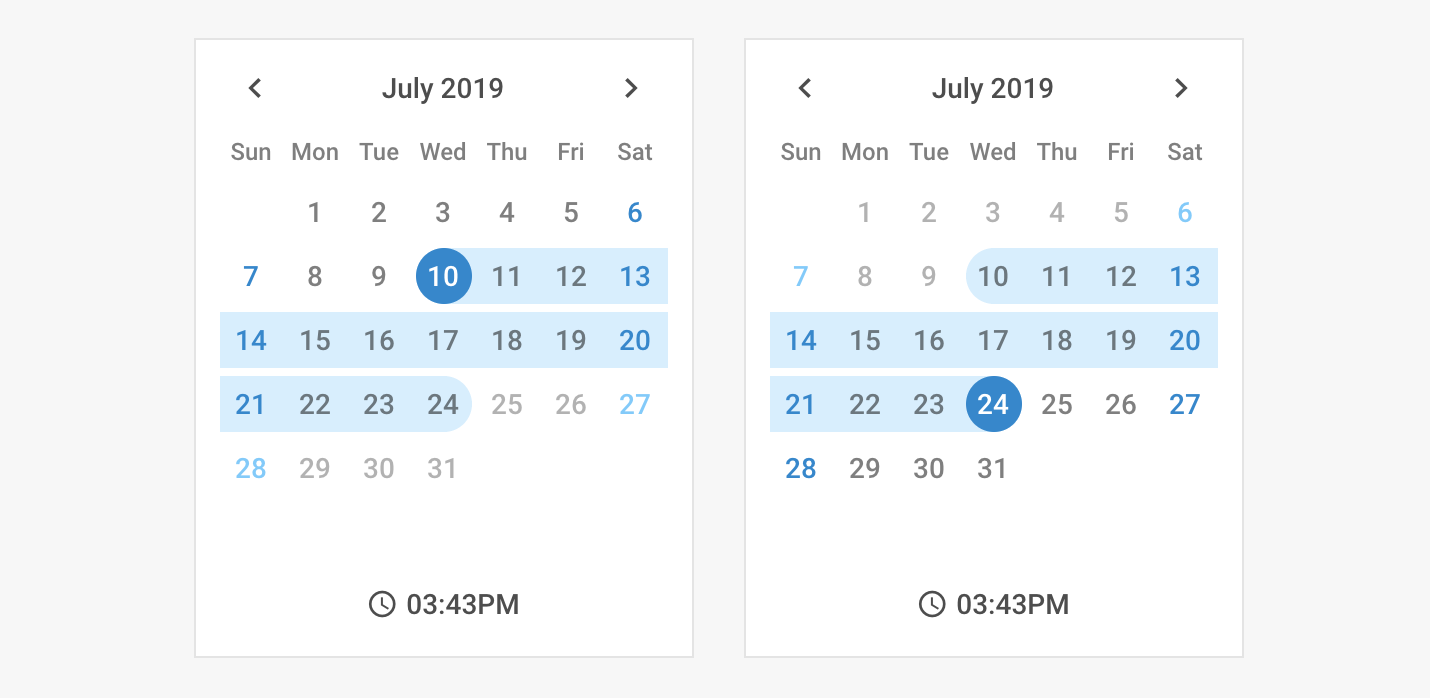 Top javascript calendar plugins - Flatlogic - Blog