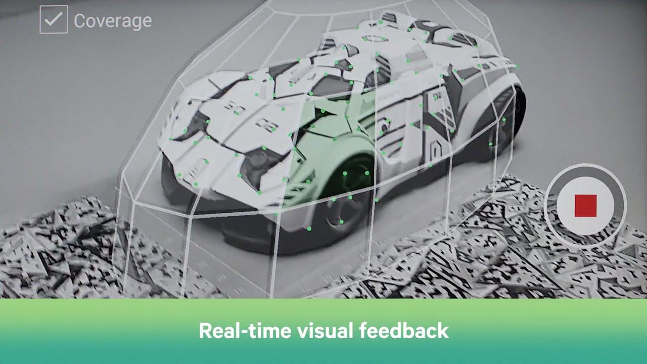 Apprentissage d'un modèle 3D pour reconnaissance en réalité augmentée