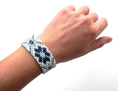 купить этно браслет из бисера украшения ручной работы