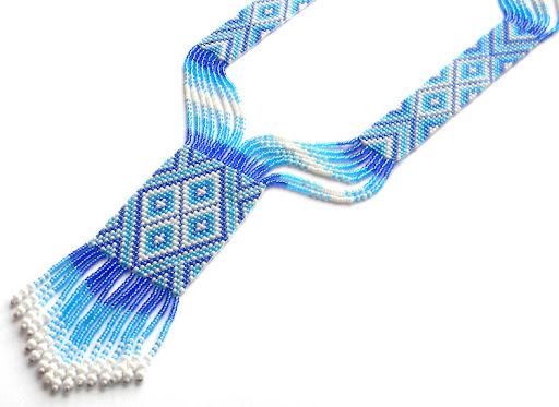 купить украшения хэнд-мейд handmade станочное ткачество