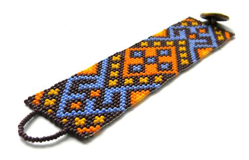 авторские изделия из бисера на заказ этнические украшения