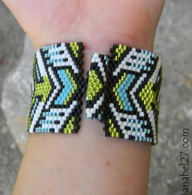 Купить широкий браслет на руку. Необычные браслеты из бисера. Интернет-магазин.