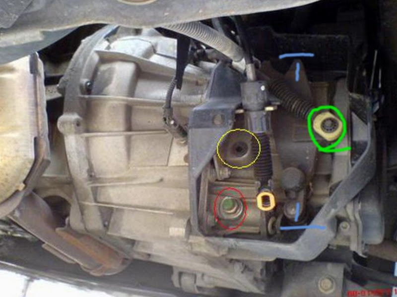 Shift Linkage Missing Parts?? ib5 transmission chatter ...