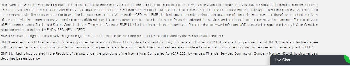 BMFN scam